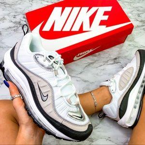 Nike Air Max 98 White Beige Sneaker